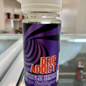 Drip Addict Grape Bubblegum - available from Southern Cross Vape