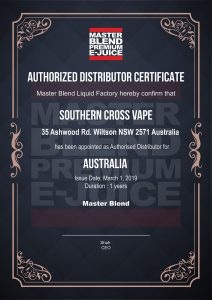 Official Partners, Southern Cross Vape