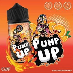 Pump Up Series by Cloudy o Funky - available at Southern Cross Vape