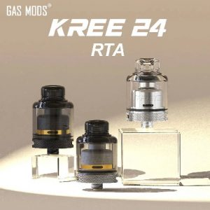 Gas Mods Kree24 RTA - available at Southern Cross Vape