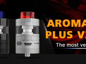 Steam Crave Aromamizer Plus V2 - available at Southern Cross Vape