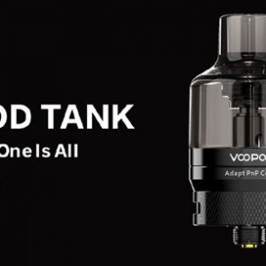 Voopoo PnP Pod Tank & Adaptor - available at Southern Cross Vape