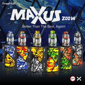 Freemax Maxus 200W - kit colours